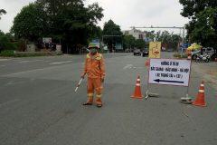 CBVN Bắc Giang – Lạng Sơn phối hợp với Sở GTVT phân luồng giao thông